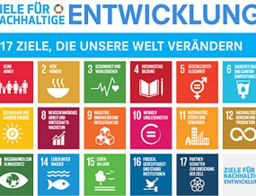 Zwei Jahre Ziele für nachhaltige Entwicklung
