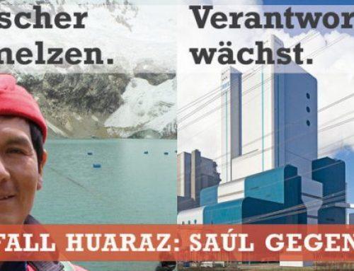 """Pressemitteilung Germanwatch  """"Klimaklage"""": RWE scheitert erneut mit Versuch Beweisaufnahme abzuwenden"""